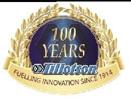 Tillotson 100-year Anniversary Logo