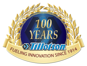 100 Years Sticker USA tillotson (w bevel and outline) no bkg