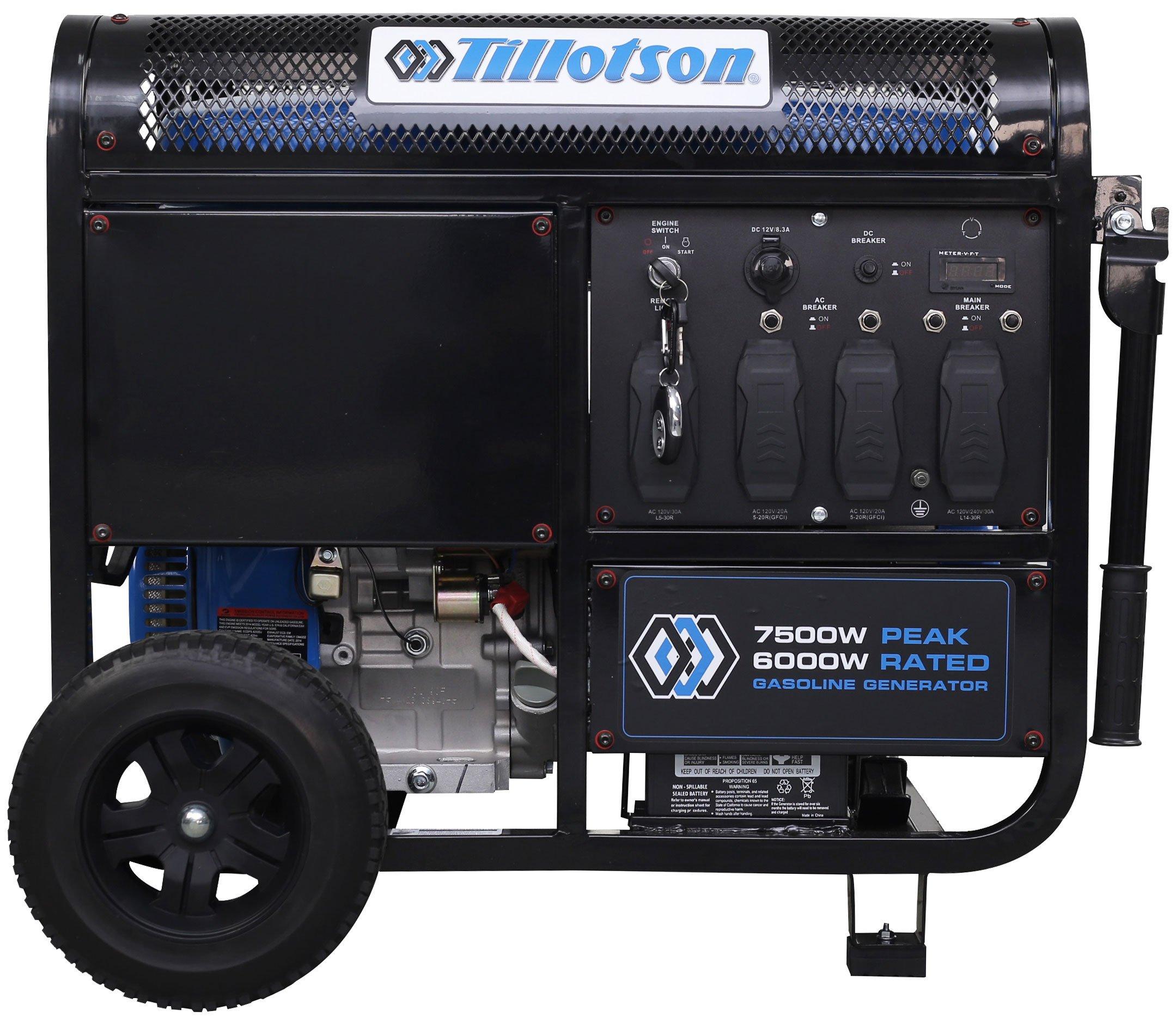 TPP-7500GA Generator 2