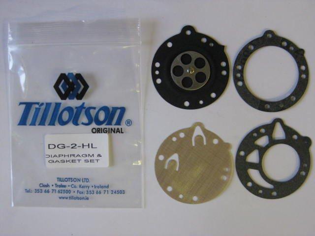 DG-2HL Diaphragm & Gasket Set