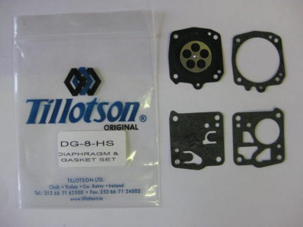 DG-8HS Diaphragm & Gasket Set