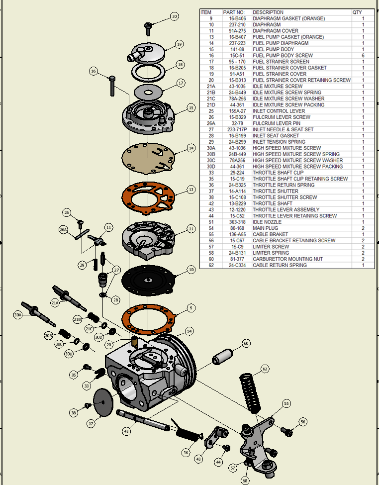 Illustrated parts lists tillotson current illustrated parts lists ccuart Choice Image